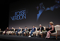 """LOS ANGELES - MAY 30: Cast members Sam Rockwell, Michelle Williams, and Norbert Leo Butz, and Executive Producers Tommy Kail, Steven Levenson, Joel Fields, and Nicole Fosse attend the FYC Event for Fox 21 TV Studios & FX's """"Fosse/Verdon"""" at the Samuel Goldwyn Theater on May 30, 2019 in Los Angeles, California. (Photo by Frank Micelotta/FX/PictureGroup)"""