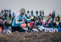 Lander Loockx (BEL)<br /> <br /> Men&rsquo;s U23 race<br /> <br /> UCI 2019 Cyclocross World Championships<br /> Bogense / Denmark<br /> <br /> &copy;kramon