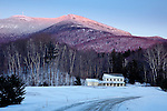 Mount Mansfield in Underhill State Park, Underhill, VT, USA