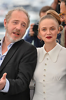 "CANNES, FRANCE. May 23, 2019: Arnaud Desplechin & Sara Forestier at the photocall for ""Oh Mercy!"" at the 72nd Festival de Cannes.<br /> Picture: Paul Smith / Featureflash"