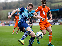 Dayle Southwell of Wycombe Wanderers during the Sky Bet League 2 match between Wycombe Wanderers and Blackpool at Adams Park, High Wycombe, England on the 11th March 2017. Photo by Liam McAvoy.