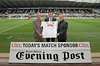 Pictured: Spencer FinneySaturday 07 May 2011<br /> Re: Swansea City FC v Sheffield United, npower Championship at the Liberty Stadium, Swansea, south Wales.