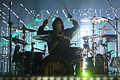 SUNRISE FL - NOVEMBER 04: Josh Dun of Twenty One Pilots performs at The BB&T Center on November 4, 2018 in Sunrise, Florida. Photo by Larry Marano © 2018