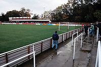 General view of Chesham United FC Football Ground, The Meadow, Chesham, Bucks, pictured on 22nd October 1994