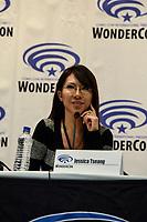 Jessica Tseang at Wondercon in Anaheim Ca. March 31, 2019