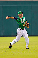 Notre Dame Fighting Irish outfielder Eric Jagielo #7 during a game against the Purdue Boilermakers at the Big Ten/Big East Challenge at Al Lang Stadium on February 19, 2012 in St. Petersburg, Florida.  (Mike Janes/Four Seam Images)