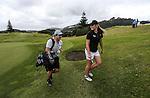 Amelia Garvey during the Autex Muriwai Open, Muriwai Golf Club, Auckland, Saturday 30 April 2016. Photo: Simon Watts/www.bwmedia.co.nz