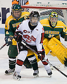 Katelyn Ptolemy (Clarkson - 4), Lucie Povova (Northeastern - 92), Emily Horn (Clarkson - 35) - The Northeastern University Huskies defeated the visiting Clarkson University Golden Knights 5-2 on Thursday, January 5, 2012, at Matthews Arena in Boston, Massachusetts.