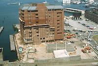 1984 AUGUST..Redevelopment.Downtown West (A-1-6)..CONSTRUCTION PROGRESS VIEWS.BOUSH COLD STORAGE.HARBOR PLACE CONDOS...NEG#.NRHA#..