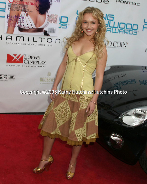 """Hayden Panettiere.26th """"Young Hollywood Awards"""".Henry Fonda Theater.Hollywood, CA.May 1, 2005.©2005 Kathy Hutchins / Hutchins Photo"""