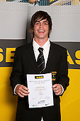 Softball Boys winner Campbell Enoka from Massey High School.  ASB College Sport Young Sportsperson of the Year Awards held at Eden Park, Auckland, on November 11th 2010.