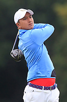 Sadom Kaewkanjana of Team Thailand on the 8th tee during Round 3 of the WATC 2018 - Eisenhower Trophy at Carton House, Maynooth, Co. Kildare on Friday 7th September 2018.<br /> Picture:  Thos Caffrey / www.golffile.ie<br /> <br /> All photo usage must carry mandatory copyright credit (&copy; Golffile | Thos Caffrey)