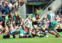 Aviva Premiership Final .Twickenham, England. Danny Care of Harlequins .during the AVIVA Premiership Final between Harlequins and Leicester Tigers at Twickenham Stadium on May 26, 2012 in London, United Kingdom.