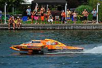 "Marc Theoret/Ghislain Marcoux, GP-444 ""El Diablo""  (Grand Prix Hydroplane(s)"