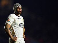 Nizaam Carr of Wasps. European Rugby Champions Cup match, between Harlequins and Wasps on January 13, 2018 at the Twickenham Stoop in London, England. Photo by: Patrick Khachfe / JMP