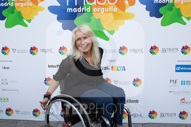 Presentation of the lgtb pride party of Madrid. July 3, 2019. (ALTERPHOTOS/JOHANA HERNANDEZ)