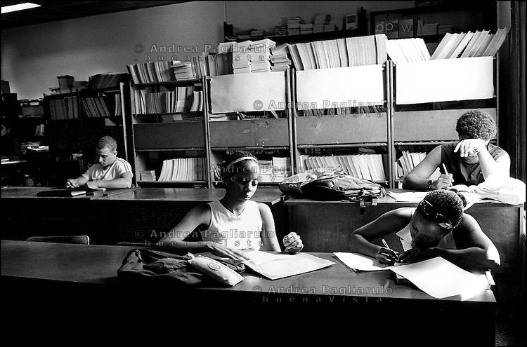 Cuba, Havana.<br /> Universit&agrave; de l'Havana.<br /> Cuba, Havana.<br /> Havana's university.