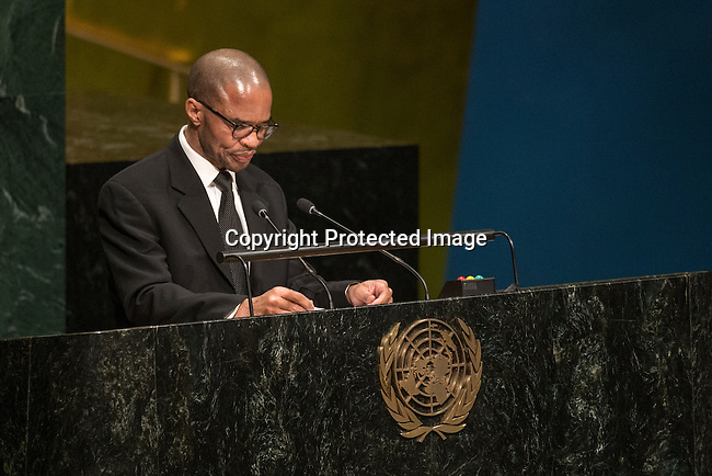 S Africa<br /> <br /> General Assembly Seventy-first session, 33rd plenary meeting<br /> 1. Report of the International Court of Justice [item 70] (a) Report of the International Court of Justice (A/71/4) (b) Report of the Secretary-General (A/71/339) <br /> 2. Organization of work, adoption of the agenda and allocation of items: second report of the General Committee (A/71/250/Add.1) [item 7] <br /> 3. Programme planning: report of the Fifth Committee (A/71/545) [item 135]<br /> 4. Review of the efficiency of the administrative and financial functioning of the United Nations; Report on the activities of the Office of Internal Oversight Services: report of the Fifth Committee (A/71/548) [items 133 and 144]