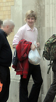Pictured: Joshua Davies arriving at Swansea Crown Court.<br />