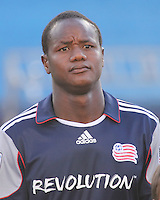 New England Revolution midfielder Joseph Niouky (23).  The New England Revolution and San Jose Earthquakes play to a scoreless draw at Gillette Stadium on May 15, 2010