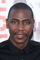 "WESTWOOD, LOS ANGELES, CA, USA - APRIL 28: Jerrod Carmichael at the Los Angeles Premiere Of Universal Pictures' ""Neighbors"" held at the Regency Village Theatre on April 28, 2014 in Westwood, Los Angeles, California, United States. (Photo by Xavier Collin/Celebrity Monitor)"