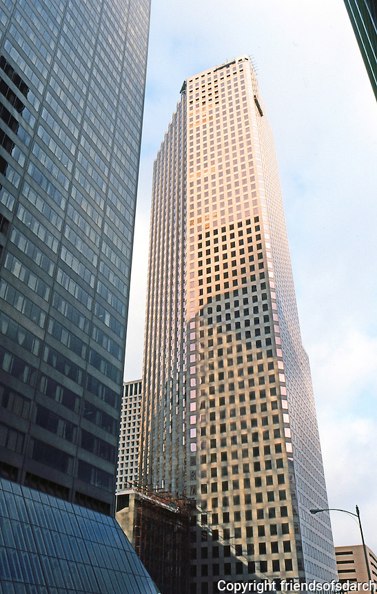 Houston:  First International Bank, First International Plaza. Photo '80.