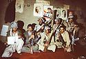 Iran 1981.Near Ouchnavieh, base for peshmergas of KDPI ( Kurdish party )