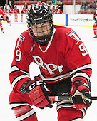 Meirs Moore (RPI - 9) - The Harvard University Crimson defeated the visiting Rensselaer Polytechnic Institute Engineers 5-2 in game 1 of their ECAC quarterfinal series on Friday, March 11, 2016, at Bright-Landry Hockey Center in Boston, Massachusetts.