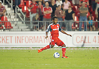 27 August 2011: Toronto FC midfielder Julian de Guzman #6 in action during a game between the San Jose Earthquakes and Toronto FC at BMO Field in Toronto..The game ended in a 1-1 draw.