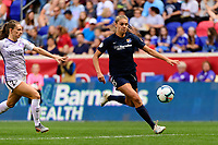 HARRISON, NJ - SEPTEMBER 29: Erica Skroski #8 of Sky Blue FC during a game between Orlando Pride and Sky Blue FC at Red Bull Arena on September 29, 2019 in Harrison, New Jersey.