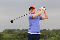 A.J. McCabe  (Links Portmarnock) on the 2nd tee during Round 1 of The East of Ireland Amateur Open Championship in Co. Louth Golf Club, Baltray on Saturday 1st June 2019.<br /> <br /> Picture:  Thos Caffrey / www.golffile.ie<br /> <br /> All photos usage must carry mandatory copyright credit (© Golffile | Thos Caffrey)