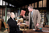 An Enemy of the People <br /> by Henrik Ibsen <br /> a version by Christopher Hampton <br /> at Chichester Festival Theatre, Chichester, West Sussex, Great Britain <br /> Press photocell <br /> 29th April 2016 <br /> Trevor Cooper as Morten Kiil <br /> Hugh Bonneville as Dr Tomas Stockmann <br /> <br /> <br /> <br /> Photograph by Elliott Franks <br /> Image licensed to Elliott Franks Photography Services
