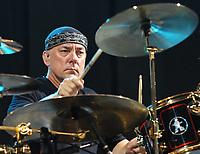 Canadian rock legends Rush perform at Atlanta's Hi-Fi Buys Amphitheatre on August 1, 2004.  <br /> CAP/MPI/CM<br /> ©CM/MPI/Capital Pictures