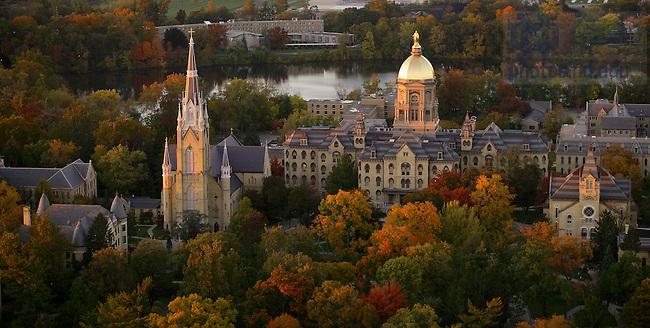 Aerial..Photo by Matt Cashore/University of Notre Dame