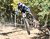 8th September 2017, Smithfield Forest, Cairns, Australia; UCI Mountain Bike World Championships; Tahnee Seagrave (GBR) riding for Transition Bikes / FMD Factory Racing during downhill practice;