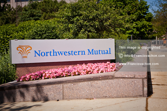 Northwestern Mutual headquarters is seen in Milwaukee, Wisconsin, Friday June 28, 2013. Northwestern Mutual is a mutual company that offers financial services, including life insurance, long-term care insurance, disability insurance, annuities, mutual funds, and employee benefit services.