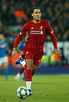 Virgil van Dijk of Liverpool during the UEFA Champions League match at Anfield, Liverpool. Picture date: 27th November 2019. Picture credit should read: Andrew Yates/Sportimage