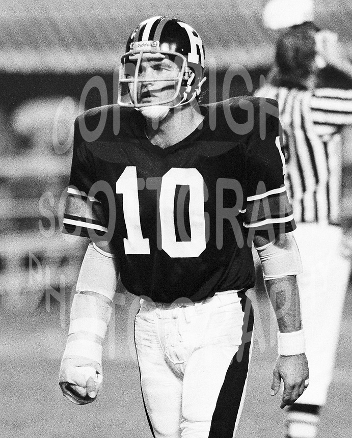 Peter Crepin Ottawa Rough Riders 1979. Photo copyright Scott Grant.