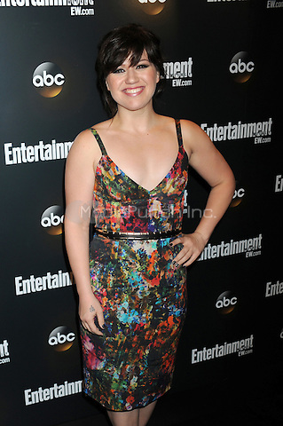 Kelly Clarkson attends the Entertainment Weekly & ABC-TV Up Front VIP Party at Dream Downtown on May 15, 2012 in New York City. Credit: Dennis Van Tine/MediaPunch
