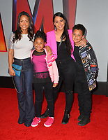 LOS ANGELES, CA. March 28, 2019: Christina Milian & Family at the world premiere of Shazam! at the TCL Chinese Theatre.<br /> Picture: Paul Smith/Featureflash