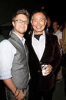 LOS ANGELES - NOV 9: Kaj-Erik Eriksen, George Takei at the special screening of Matt Zarley's 'hopefulROMANTIC' at the American Film Institute on November 9, 2014 in Los Angeles, California