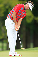 Bubba Watson (USA) putts on the 8th green during Thursday's Round 1 of the 2014 PGA Championship held at the Valhalla Club, Louisville, Kentucky.: Picture Eoin Clarke, www.golffile.ie: 7th August 2014