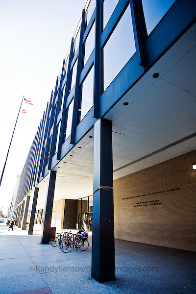 MLK Library Washington DC Architecture