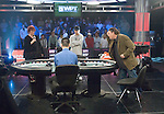 Heads up play lasted one hand as Eric Hershler defeats JC Tran.  Hershler celebrates. Erick Hershler, in his first live poker tournament ever,  wins the L.A. Poker Classic, a $25,000 entry into the WPT Championship and $2,429,970.