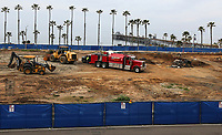 Feb. 26, 2019. Oceanside, CA. USA| (I was told that this is what this is called) Construction of the Joie de Vivre boutique Hotels and destination Hotels Resort underway overlooking the Oceanside pier in Oceanside. | Photos by Jamie Scott Lytle. Copyright.