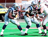 Uzooma Okeke Montreal Alouettes 2000. Photo John Bradley