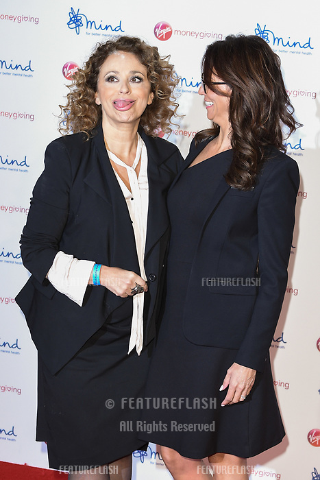 Nadia Sawalha & Andrea McLean at the Virgin Money Giving Mind Media Awards at the Odeon Leicester Square, London, UK. <br /> 13 November  2017<br /> Picture: Steve Vas/Featureflash/SilverHub 0208 004 5359 sales@silverhubmedia.com