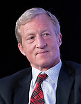 Liberal activist Tom Steyer appears on a panel at the Center for American Progress' 2018 Ideas Conference at the Renaissance Hotel in Washington, DC on Tuesday, May 15, 2018.<br /> Credit: Ron Sachs / CNP<br /> (RESTRICTION: NO New York or New Jersey Newspapers or newspapers within a 75 mile radius of New York City) | usage worldwide