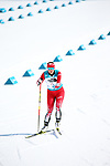 Pyeongchang, Korea, 10/3/2018- Brittany Hudak competes in the womens 6km standing event in the Biathlon at the Alpensa Biathlon Centre during the 2018 Paralympic Games in PyeongChang. Photo Scott Grant/Canadian Paralympic Committee.
