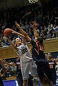 Tricia Liston shoots past Virginia defense. Duke woman's basketball beat Virginia 77-66 on Monday, January 2, 2012 at Cameron Indoor Stadium in Durham, NC. Photo by Al Drago.